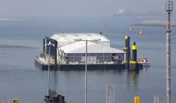 De Boer trotse partner van award winning project 'Opening van de APM Terminal'