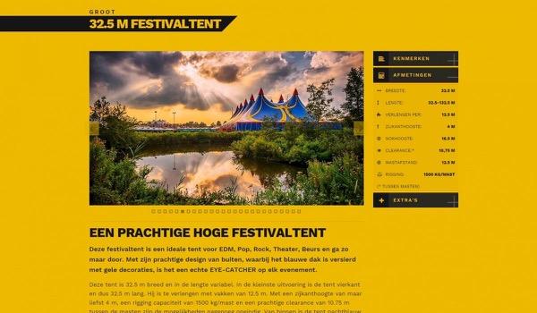 Van Ham Tenten lanceert nieuwe website