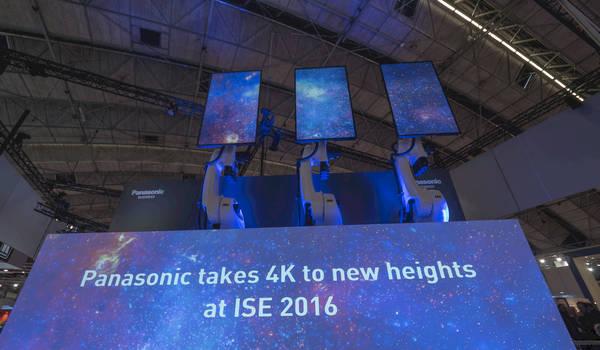 Event-tech nieuws van op ISE 2017