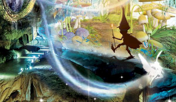 Een sprookjesachtige reis doorheen de tijd... Domein van de Grotten van Han