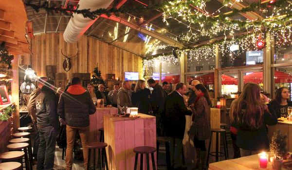 Bedrijfsfeest in een tent midden in de winter, natuurlijk kan dat!
