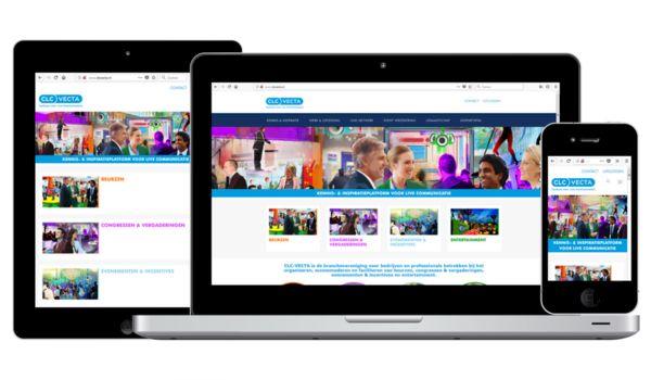 CLC-VECTA laceert nieuwe website