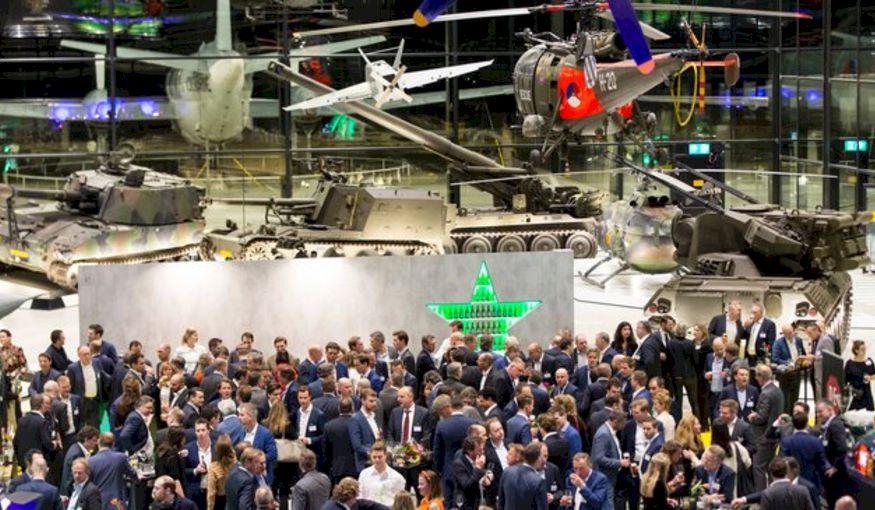 Nederlandse trots: Industributie Diner 2019 bij het Nationaal Militair Museum