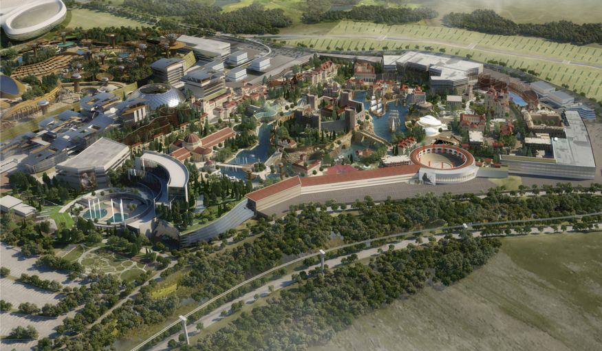 Las Vegas van Europa wordt in Spanje gebouwd
