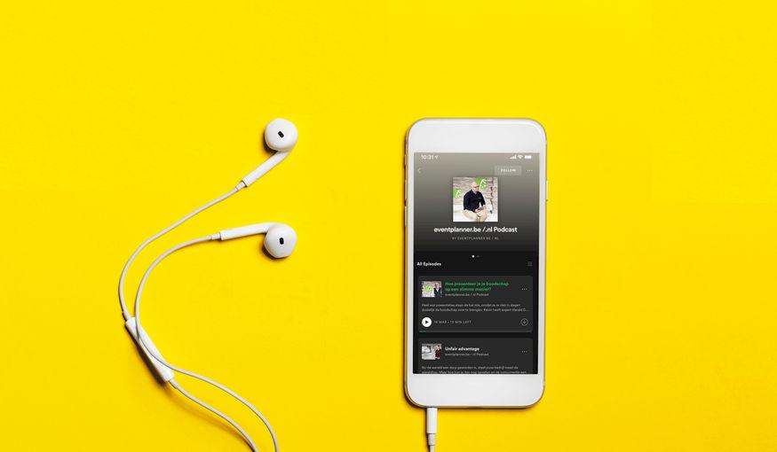 eventplanner.be /.nl lanceert podcast voor eventsector