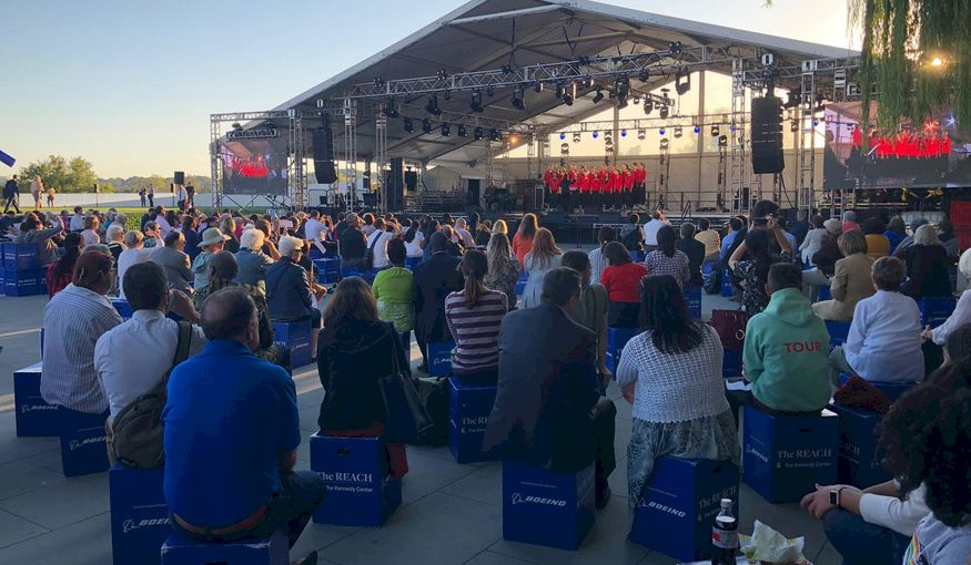 FestivalChairs groot succes in Washington D.C.