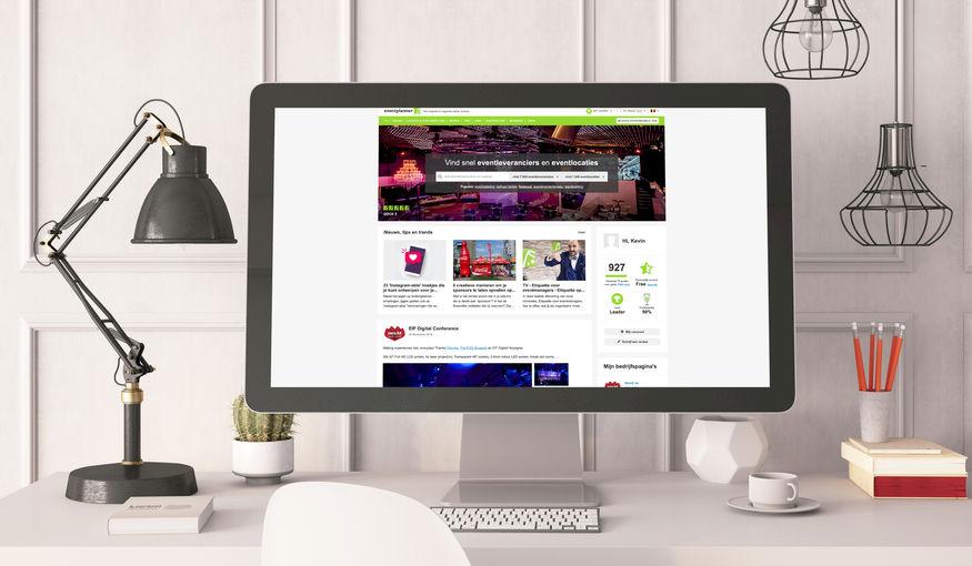 Ontdek je persoonlijke 'event feed' en onze nieuwe homepage