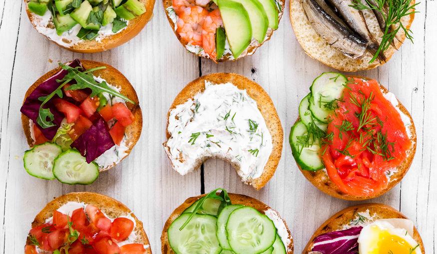 29 mini sandwiches om je gasten te verwennen